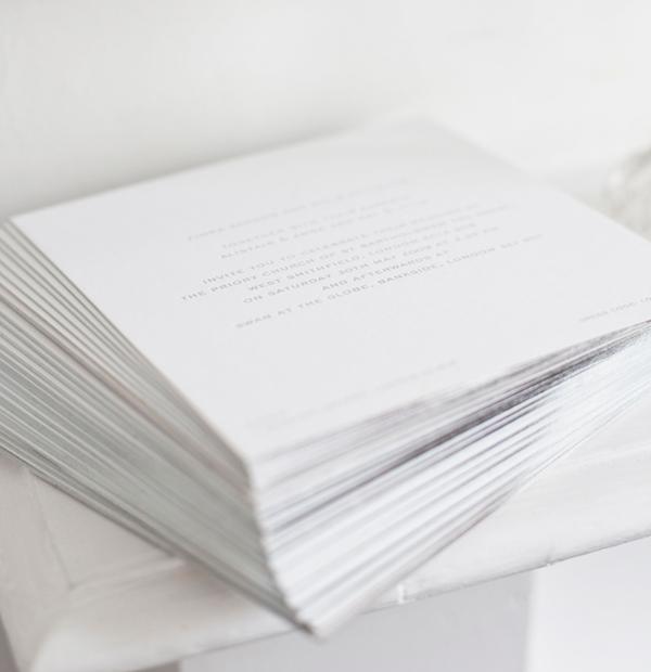 wedding stationery - invitations