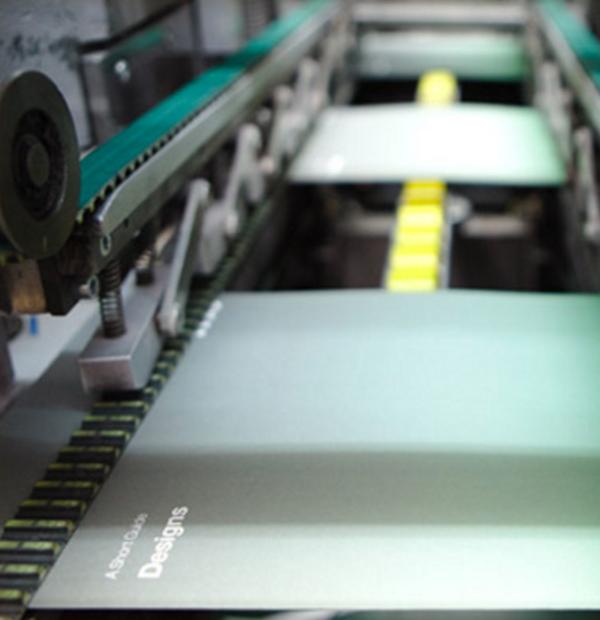 Wedding Invitations - the printing press