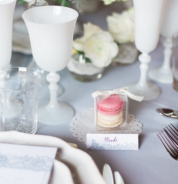 Wedding stationery place settings for on the day stationery