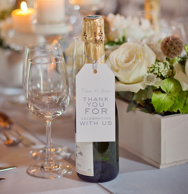 Wedding stationery for the table
