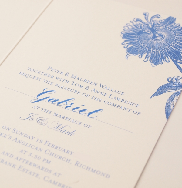 Embellish your Wedding Invitations with Calligraphy at Emily & Jo