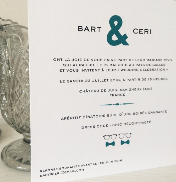 Wedding Invites & Wording Inspiration - English & French