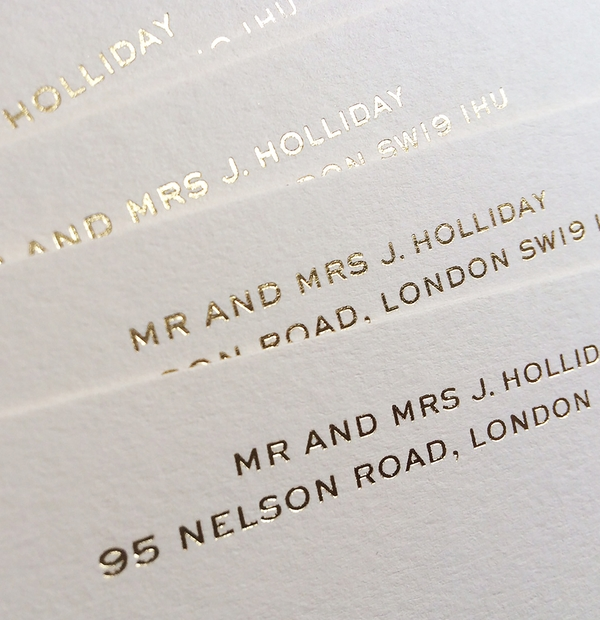 Correspondence cards - moving house