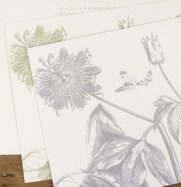 Correspondence cards - stay in touch