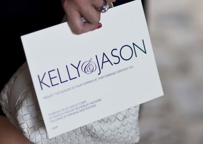 The Wedding of Kelly and Jason