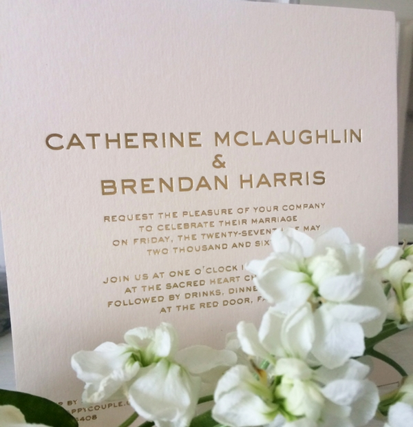 Wedding Stationery - classic
