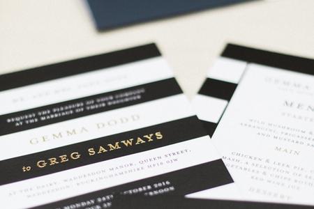 Soho Monogram wedding invitation category picture